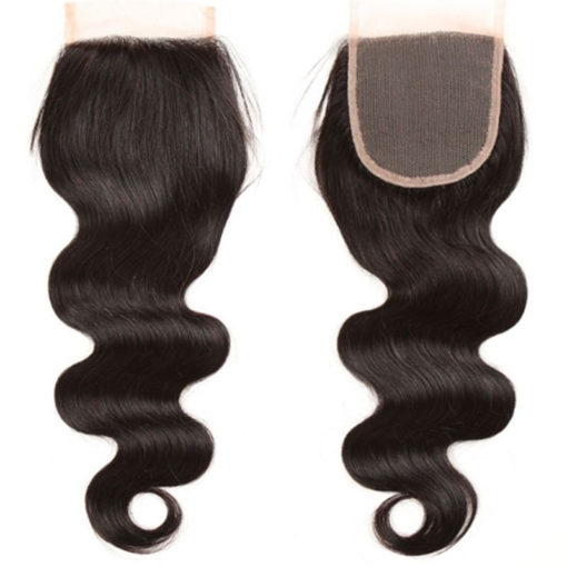 Barbie's Hair Extension's Natural Brown Closures - Body Wave